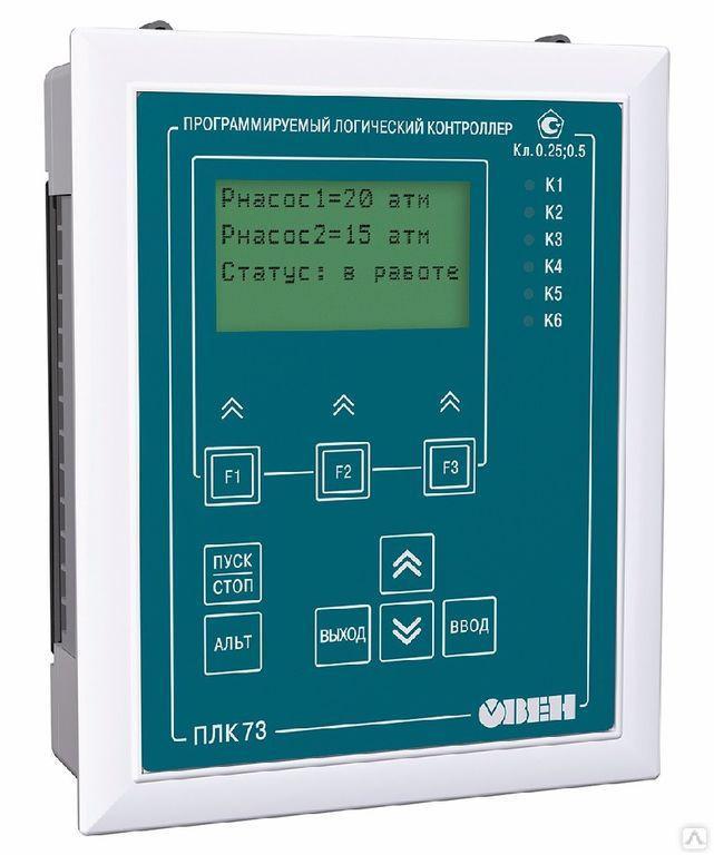 Программируемый логический контроллер ПЛК73-ККККРРРР-L [М01]