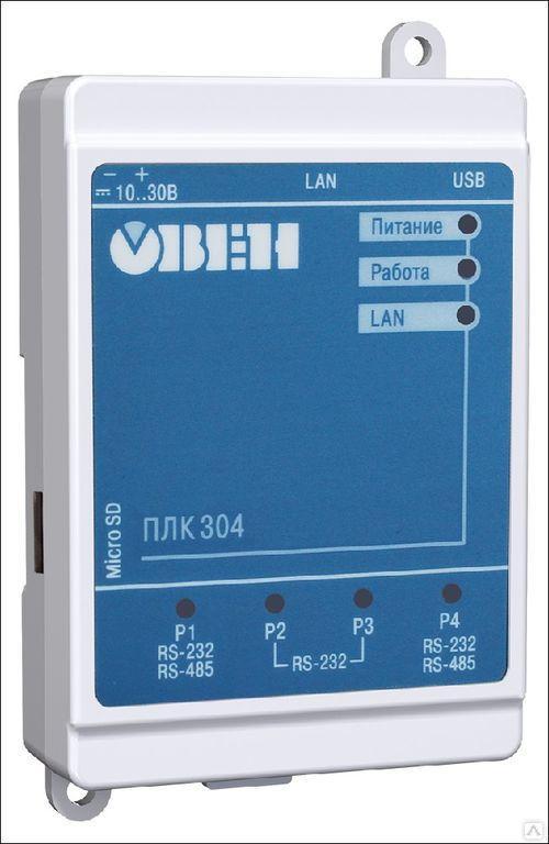 Программируемый логический контроллер ПЛК304-24-СS [М01]