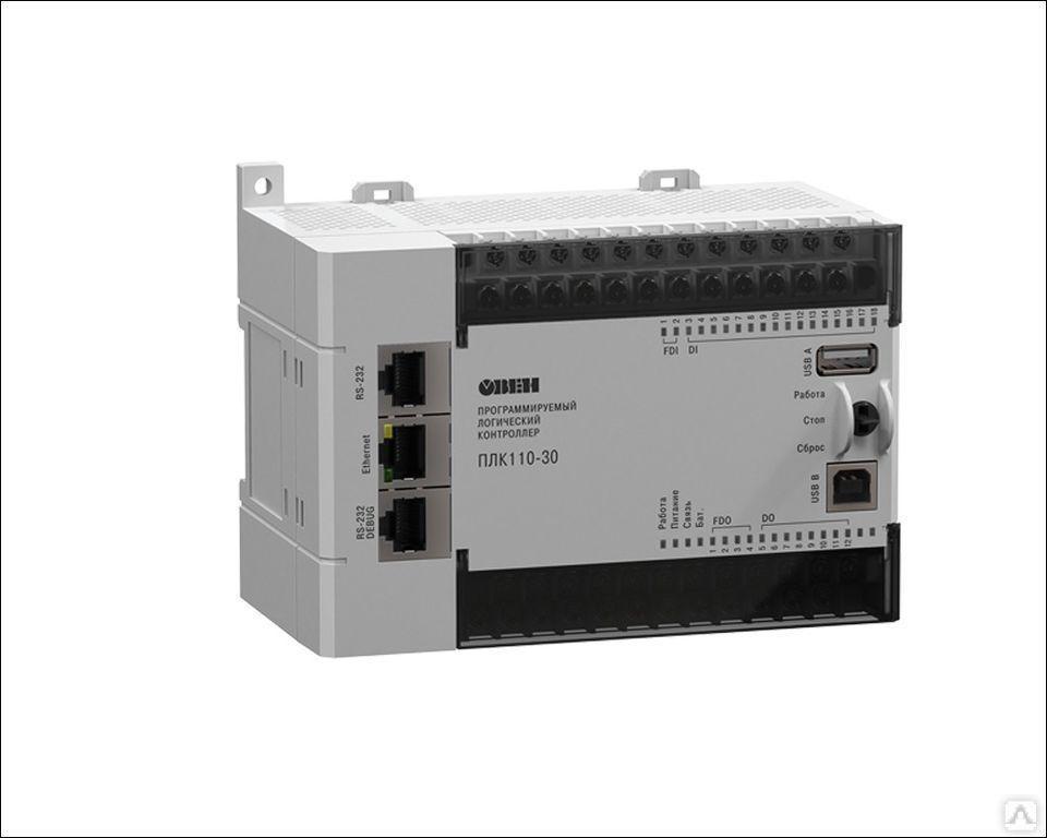 Программируемый логический контроллер ПЛК110-220.30.Р-М [М02]