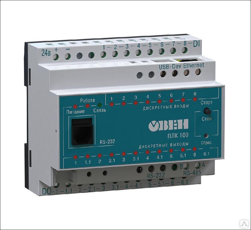 Программируемый логический контроллер ПЛК100-24.Р-М