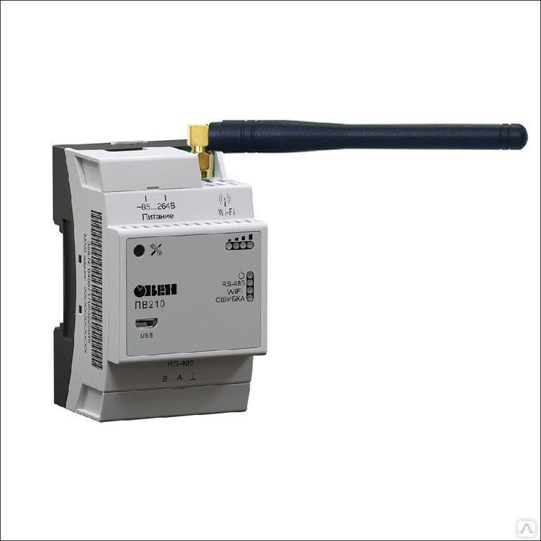 Сетевой шлюз для доступа к OwenCloud ПВ210-230