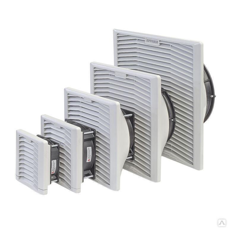 Решётка вентиляционная выпускная c фильтром KIPVENT-200.01.300