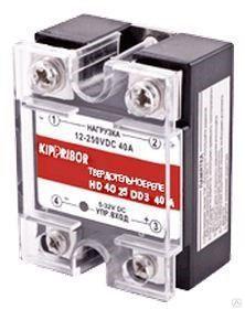 Реле твердотельное 1-ф, тип HD, 10 А HD-1025.DD3 [M02]