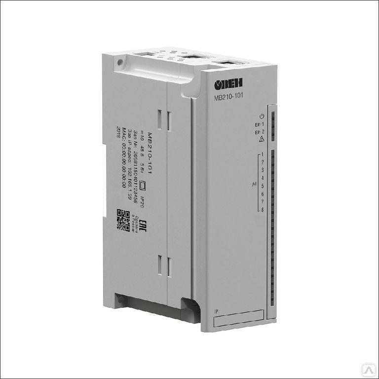 Модуль аналогового ввода МВ210-101