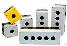 Корпус кнопочного поста,3 отверстия,серый MTB2-PE3