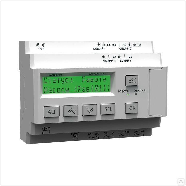 Контроллер управления насосами СУНА-121.220.04.00