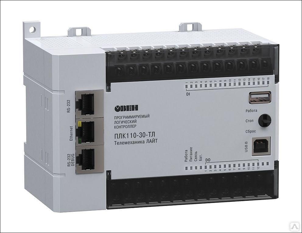 Контроллер для телеметрии и диспетчеризации ПЛК110-220.30-ТЛ [М02]