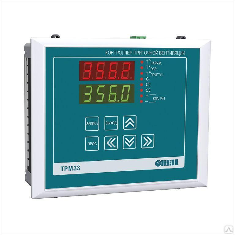 Контроллер для приточной вентиляции ТРМ33-Щ4.01 [М02]