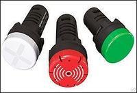 Звонок, 80дБ, черный, 220V AC MT22-FM220
