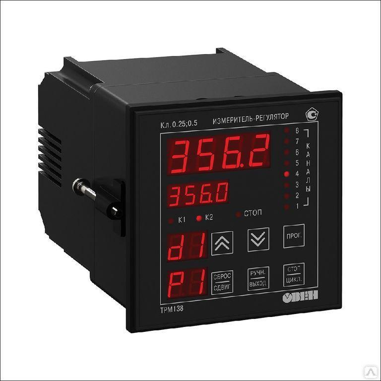 Измеритель-регулятор универсальный восьмиканальный ТРМ138-ИИИИРРРР [М01]