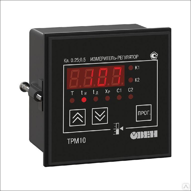 Измеритель-регулятор микропроцессорный ТРМ10-Д.У.РР