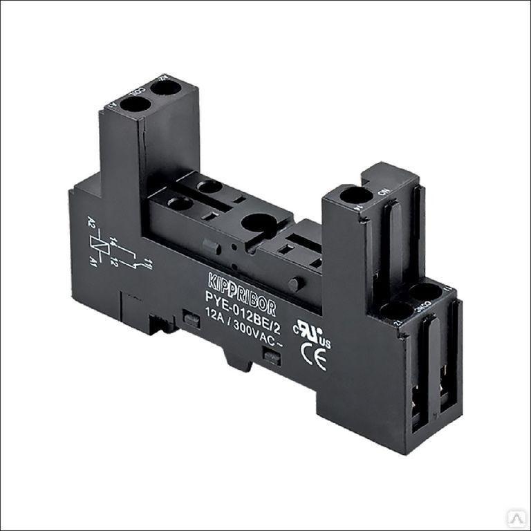 Колодка для реле PYF-022BE/2BL