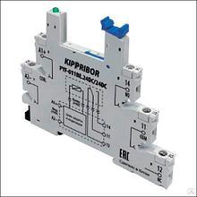 Колодка для реле 1-конт,тип PYF PYF-011BE.24DC/24DC