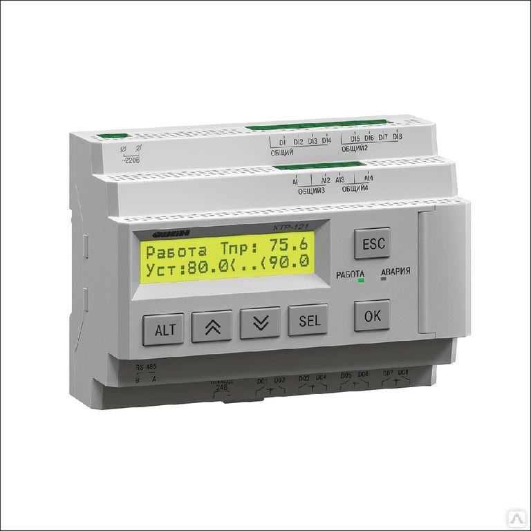 Блок автоматического управления котельной КТР-121.220.02.40
