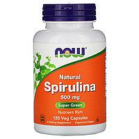 БАД Натуральная спирулина 500 мг (120 капсул)