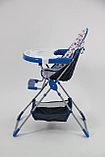 Стульчик для кормления Selby 252, синий 00-54187, фото 3