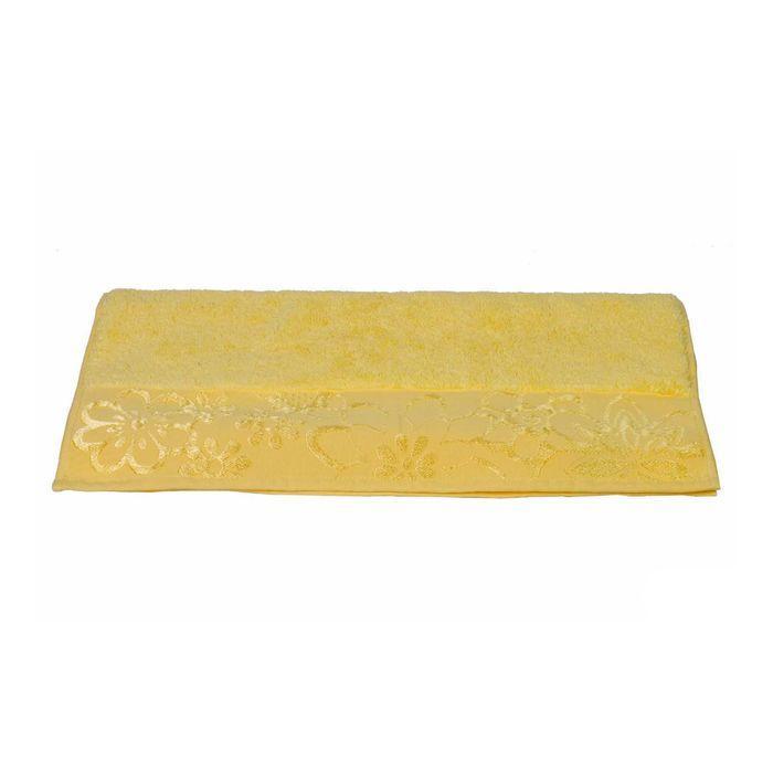 Полотенце Dora, размер 30 × 50, жёлтый