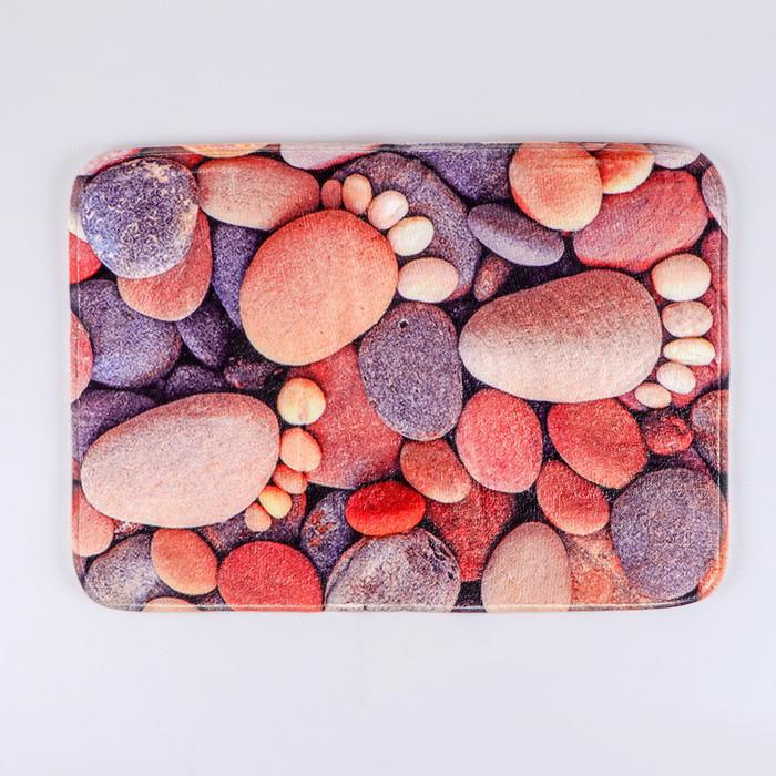 Коврик «Камни следы», 40×60 см