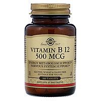 Витамин B-12 Solgar 500 мкг (100 таблеток)