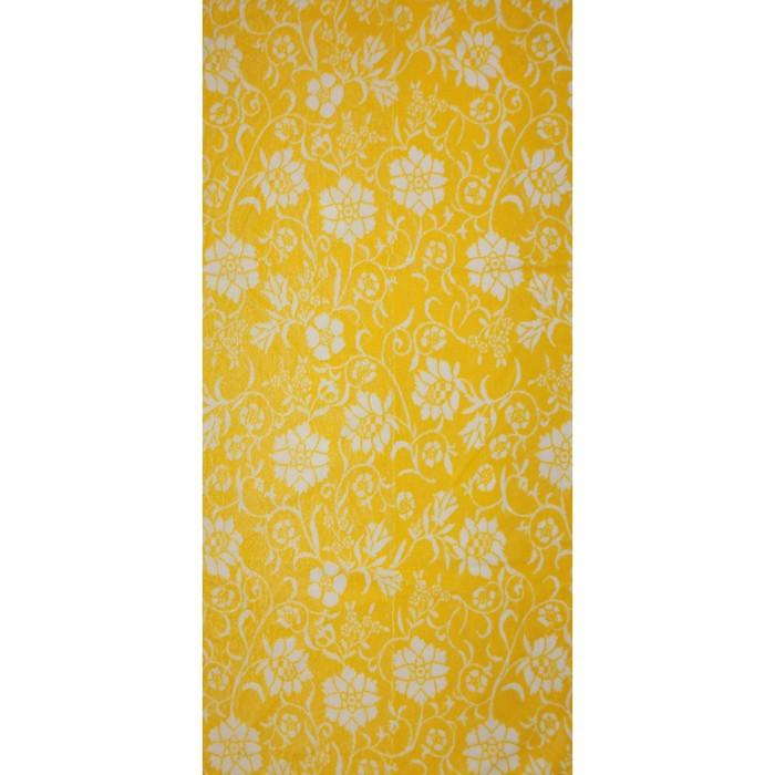 Полотенце махровое Privilea «Полянка», 50х90 см, жёлтый