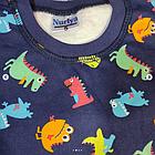 Пижама с дракошами, синяя, фото 2