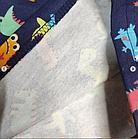 Пижама с дракошами, синяя, фото 3
