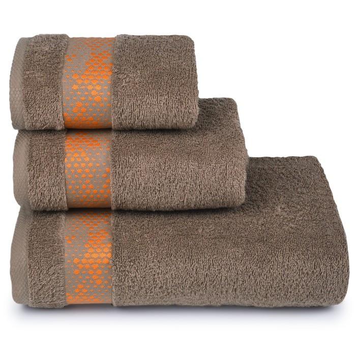 Полотенце махровое Element 50х90 см, 18-1029 коричневый, хлопок 100%, 400 гр/м2