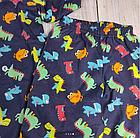 Пижама с дракошами, синяя, фото 4