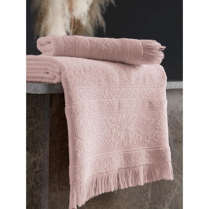 Полотенце Lora 50х90 см, цвет пудровый