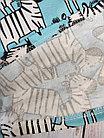 Пижама со зебрами, голубая, фото 2