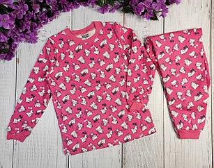 Пижама с кошками, розовая