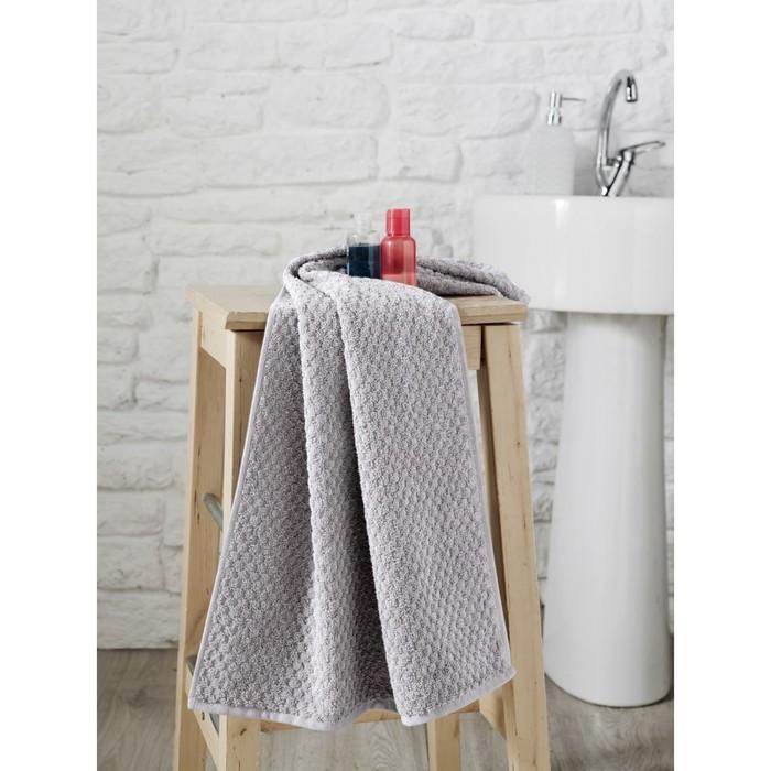 Полотенце Dama, размер 50 × 90 см, серый