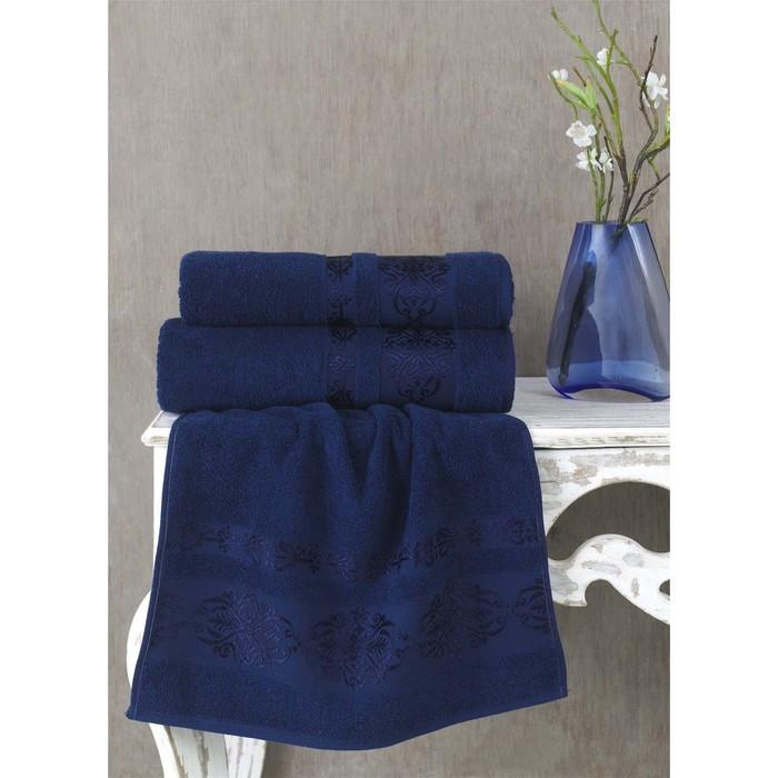 Полотенце Rebeka, размер 70 × 140 см, синий