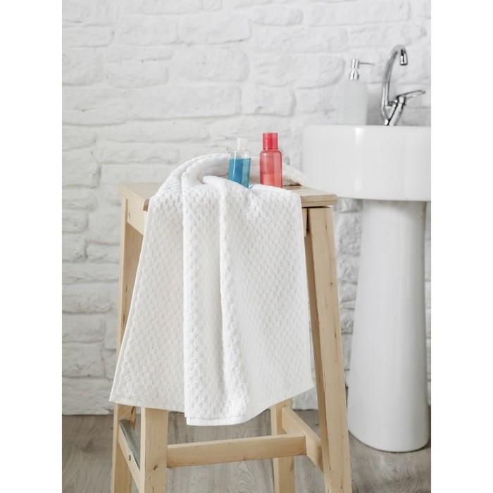 Полотенце Dama, размер 50 × 90 см, белый