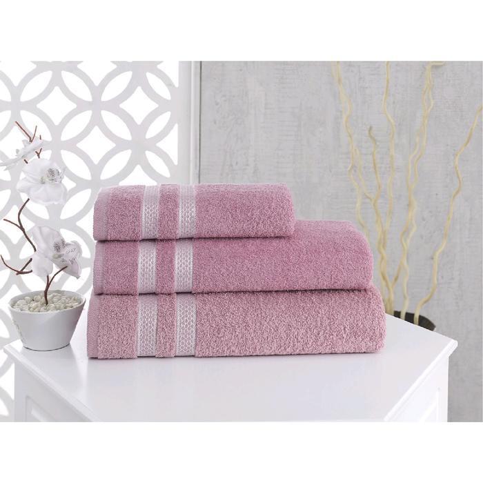 Полотенце Petek 50x100 см, цвет грязно-розовый