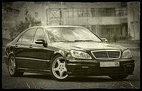 "Комплект обвеса ""WALD Sport Line"" для Mercedes-Benz S-класса W220"
