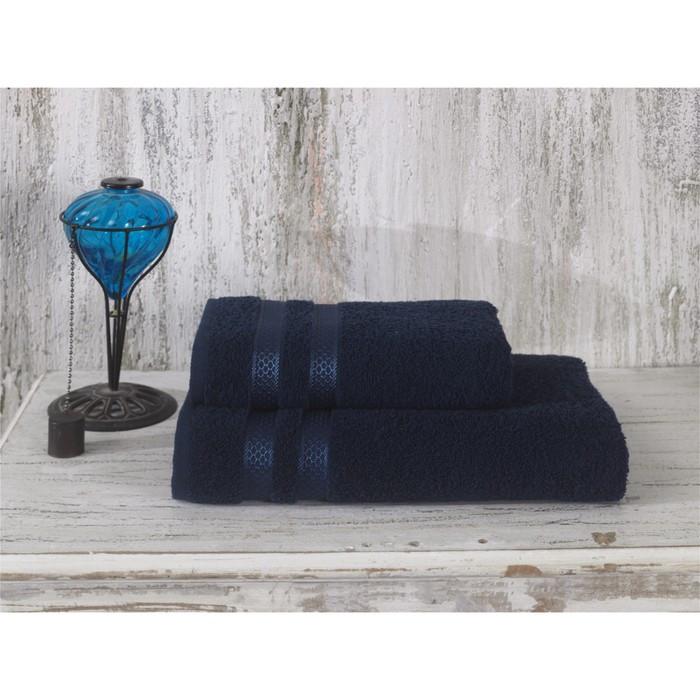 Полотенце Petek, размер 50 × 100 см, синий