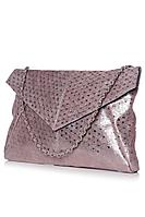 Женский осенний кожаный розовый клатч Galanteya 22609.9с3375к45 розовый_св. без размерар.