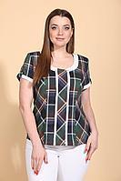 Женская летняя хлопковая блуза La Prima 0148 46р.