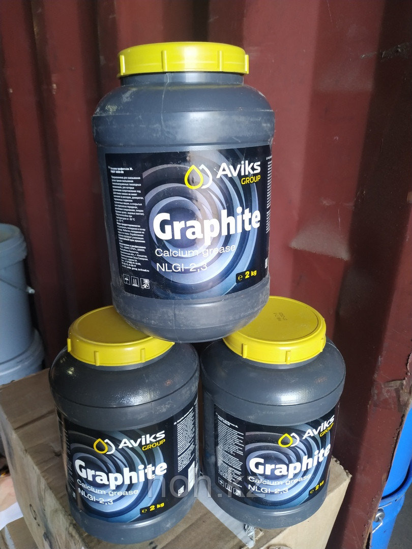 Смазка Графитная ГОСТ 3333-80 Банка 2 кг
