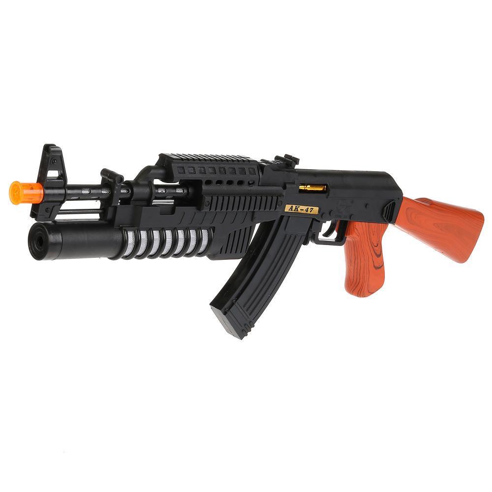 IV Автомат АК-47 с лазерным прицелом (свет, звук, вибрация), 40 см