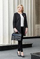 Женская осенняя кожаная черная деловая сумка YFS 103 черный без размерар.