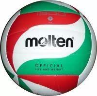 Мяч волейбольный Mikasa(бело-красно-зеленый)