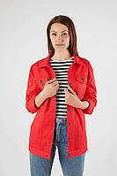 Женская осенняя красная большого размера куртка Legend Style G-012 красный 42р.