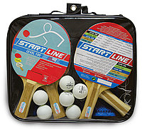 4 Ракетки Level 100, 6 Мячей Club Select, Сетка с креплением