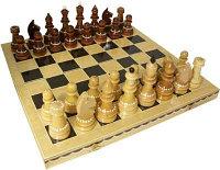 Шахматы турнирные инкрустированные с доской