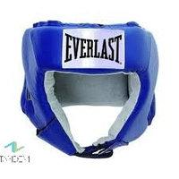 Шлем открытый Everlast USA Boxing L кожа син. 610406U