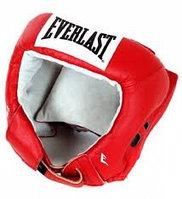 Шлем открытый Everlast USA Boxing M кожа красн. 610200U