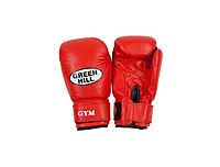Перчатки боксерские Green Hill GYM кож. красные 8oz BGG-2018