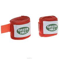 Бинт боксерский Green Hill 2,5 м эластик BP-6232a